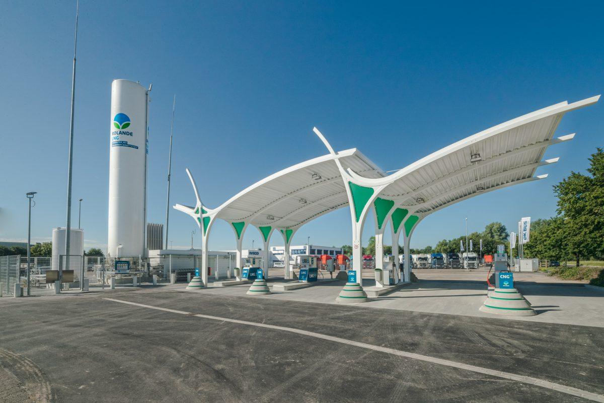 Eerste LNG tankstation in ULM